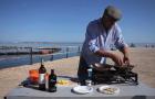 Premiado chef português André Magalhães no festival