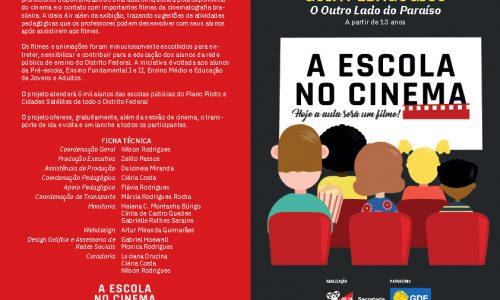 A ESCOLA NO CINEMA
